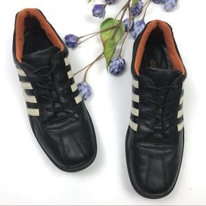 Ecco Leather Lace Up Driving Sneakers Comfort Shoe